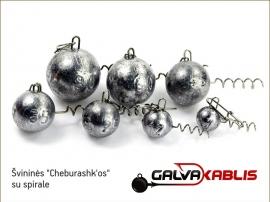 Cheburashkos su spirale