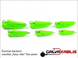 Svininiai svareliai Easy-rider fluo green 02