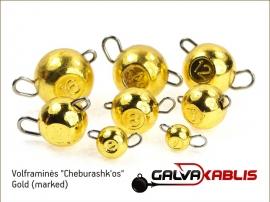 Tungsten Cheburashka Gold