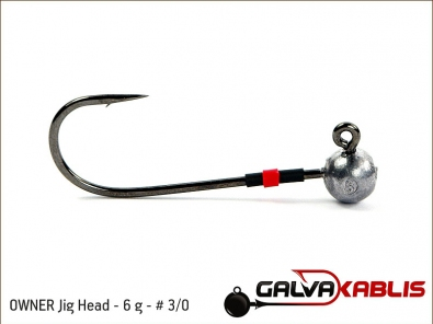 OWNER Jig Head 6 g 3 0