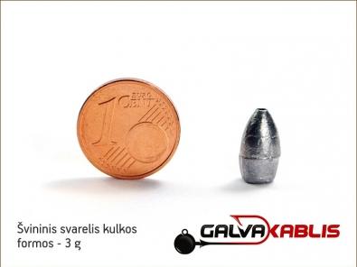 Lead bullet 3g