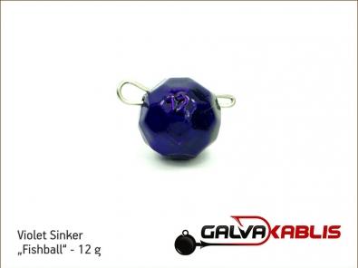 Violet Sinker Fishball 12g