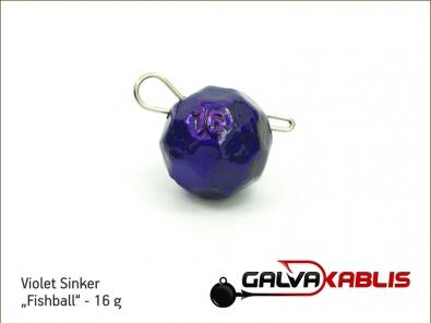 Violet Sinker Fishball 16g