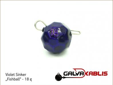 Violet Sinker Fishball 18g