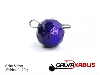 Violet Sinker Fishball 20g