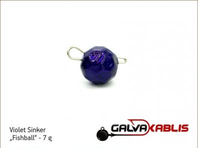 Violet Sinker Fishball 7g