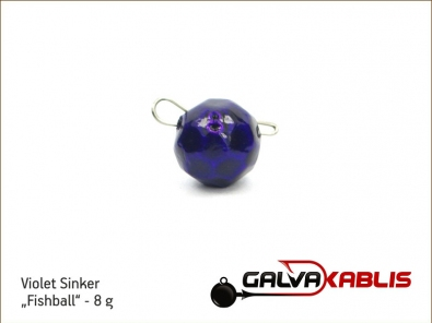 Violet Sinker Fishball 8g