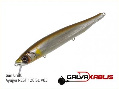 Gan Craft Ayujya REST 128 SL 03