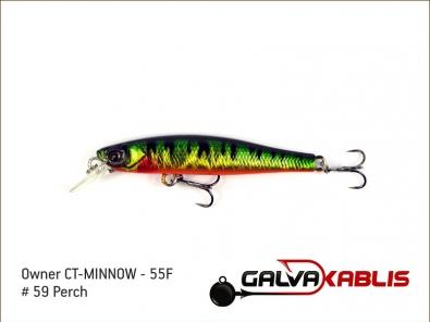 CT-MINNOW - 55F - 59 Perch