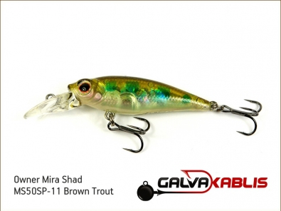 Mira Shad MS50SP-11 Brown Trout