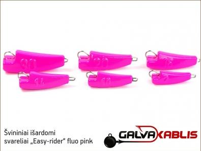 Svininiai svareliai Easy-rider fluo pink 02