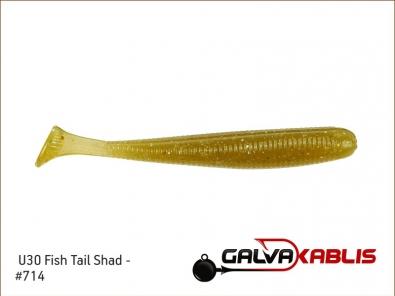 U30 Fish Tail Shad 2.8 - 714