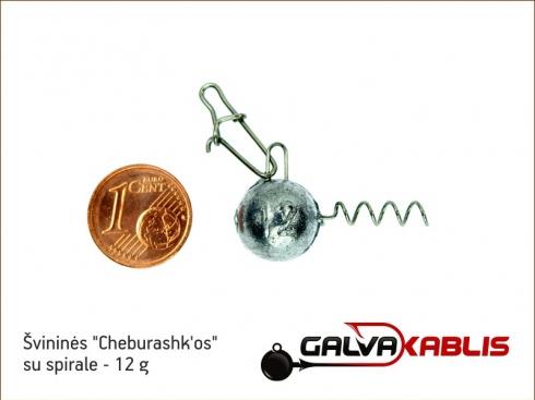 Cheburashkos su spirale 12g