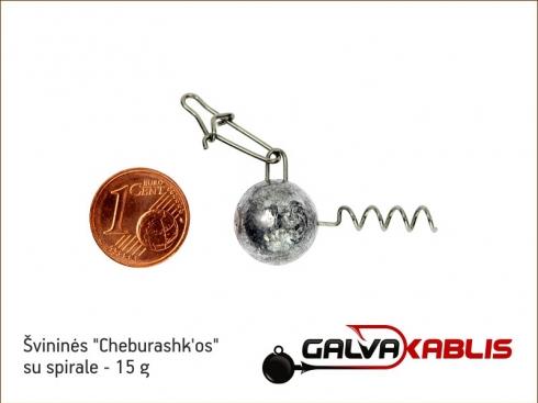 Cheburashkos su spirale 15g