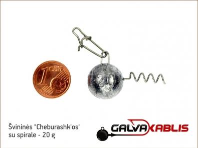 Cheburashkos su spirale 20g