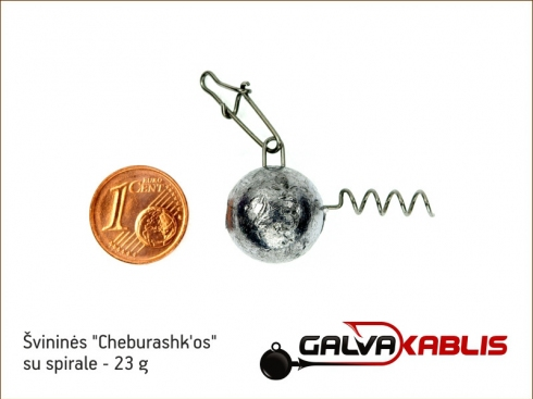 Cheburashkos su spirale 23g