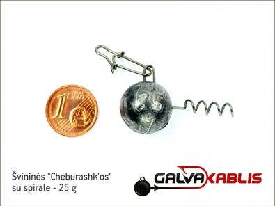 Cheburashkos su spirale 25g