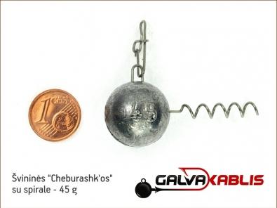 Cheburashkos su spirale 45g