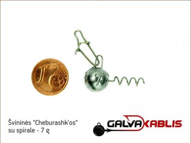 Cheburashkos su spirale 7g