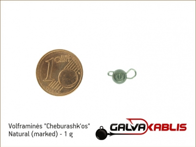 Tungsten Cheburashka Natural 1g