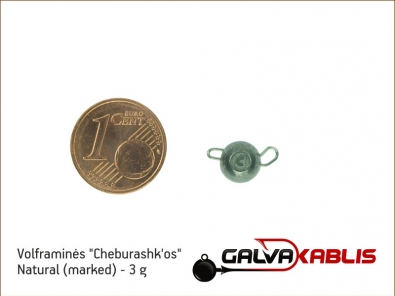 Tungsten Cheburashka Natural 3g