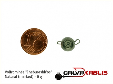 Tungsten Cheburashka Natural 6g