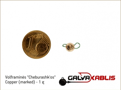 Tungsten Cheburashka Copper 1g