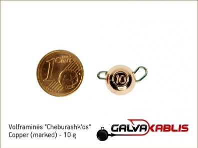 Tungsten Cheburashka Copper 10g