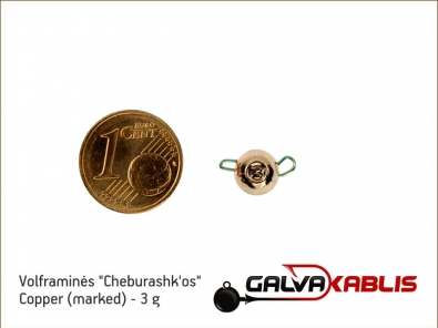 Tungsten Cheburashka Copper 3g