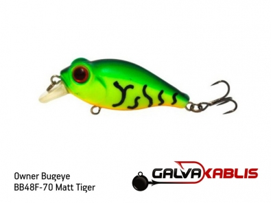 Owner Bugeye BB48F-70 Matt Tiger
