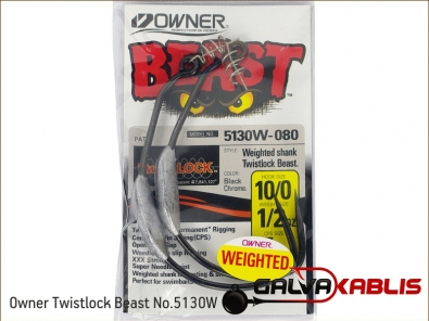 Owner Twistlock Beast No.5130W 10