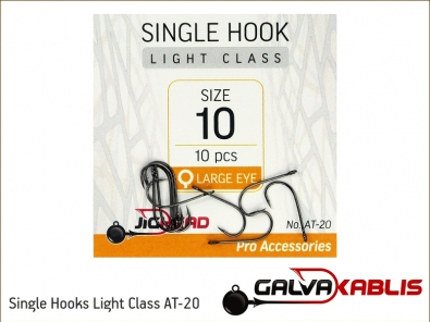 Single Hooks Light Class AT-20 10