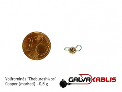Tungsten Cheburashka Copper 0.6g