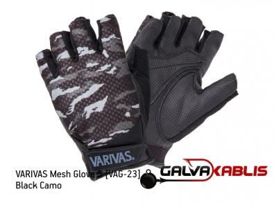 VARIVAS Mesh Glove 5 VAG-23 black camo