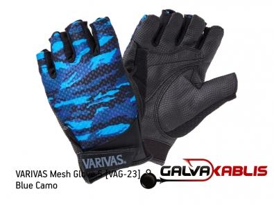 VARIVAS Mesh Glove 5 VAG-23 blue camo