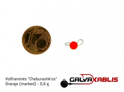 Tungsten Cheburashka Orange 06g