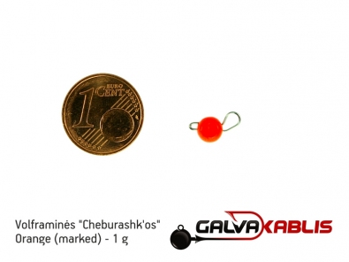 Tungsten Cheburashka Orange 1g