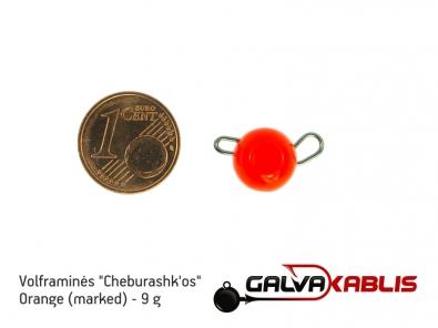 Tungsten Cheburashka Orange 9g