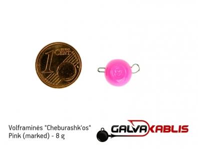 Tungsten Cheburashka Pink 8g