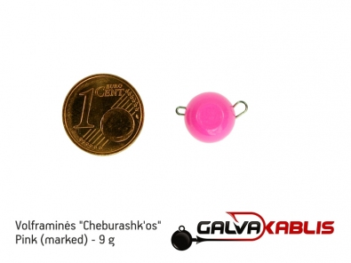 Tungsten Cheburashka Pink 9g