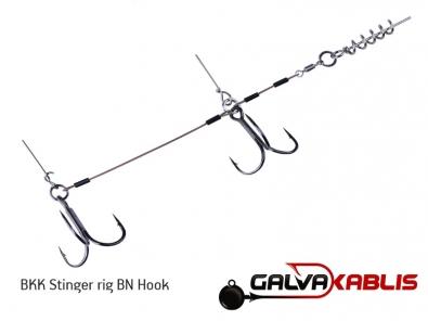 BKK Stinger rig BN Hook