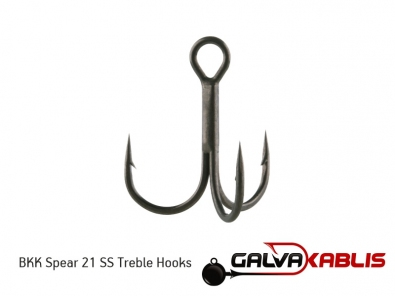 BKK Spear 21 SS Treble Hooks v3