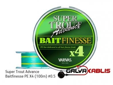 Super Trout Advance Baitfinesse PE X4